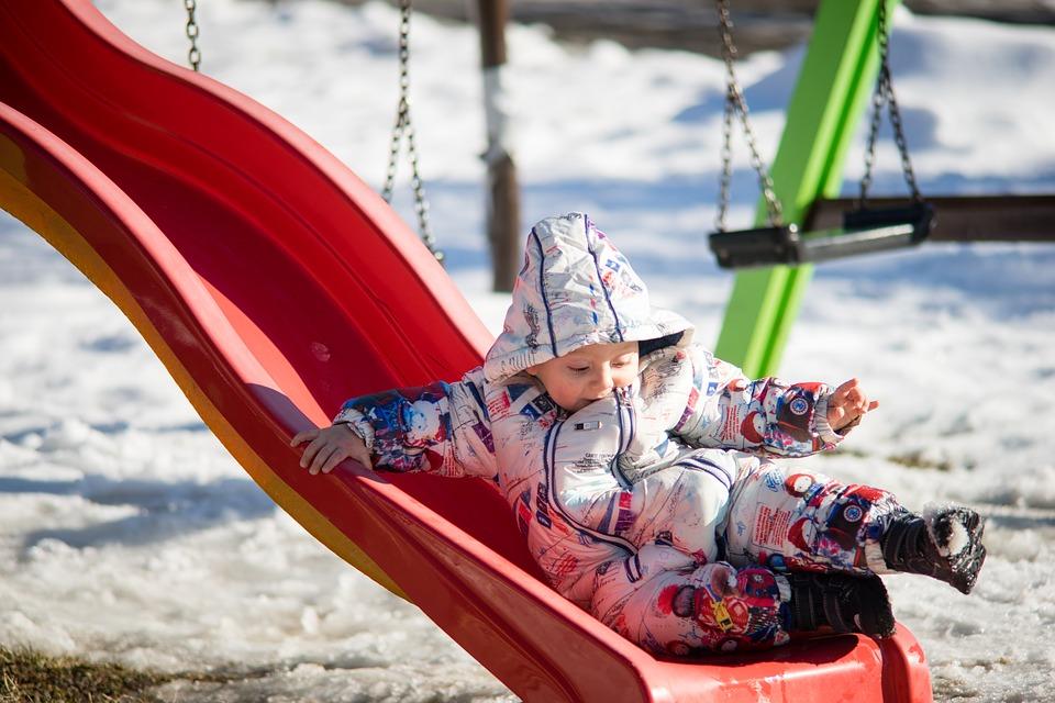 Børn kan godt fryse uden at vise det