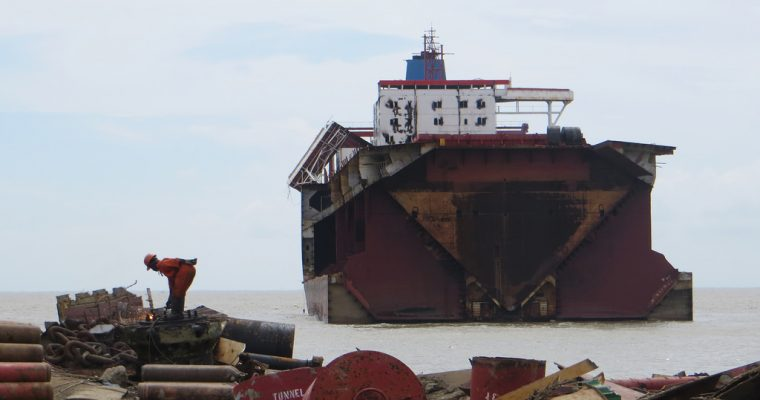 Genanvendelse og genbrug er i fokus hos Fornæs Ship Recycling