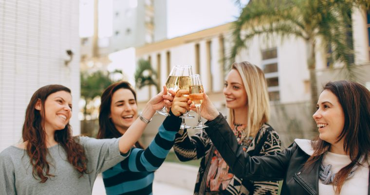 Perfekt vin til den perfekte venindeaften